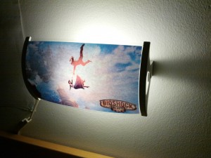 Bioshock Infinite lamp