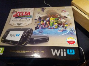 Wii U Wind Waker bundle box