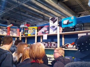 Some stall at SpillExpo with retro (and new) consoles