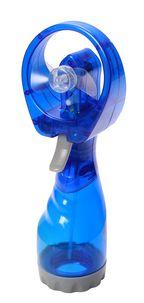 Fan with water spray