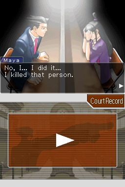 Phoenix Wright: Justice For All screenshot